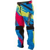 Calça Para Motocross Insane 4 Azul E Amarelo Pro Tork