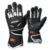 Luva De Motocross Iron Touch Finger Branca Texx