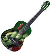 Violão Acústico Nylon Infantil Marvel Hulk Vim-H1 Phx