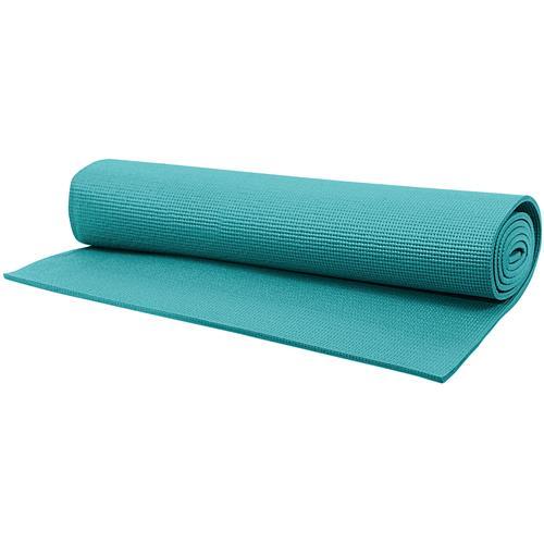 tapete de yoga em pvc 173x61cm azul t11 acte acte. Black Bedroom Furniture Sets. Home Design Ideas