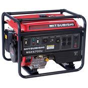 Gerador Monofásico 6700W Á Gasolina Mge6700z-R0a Mitsubishi