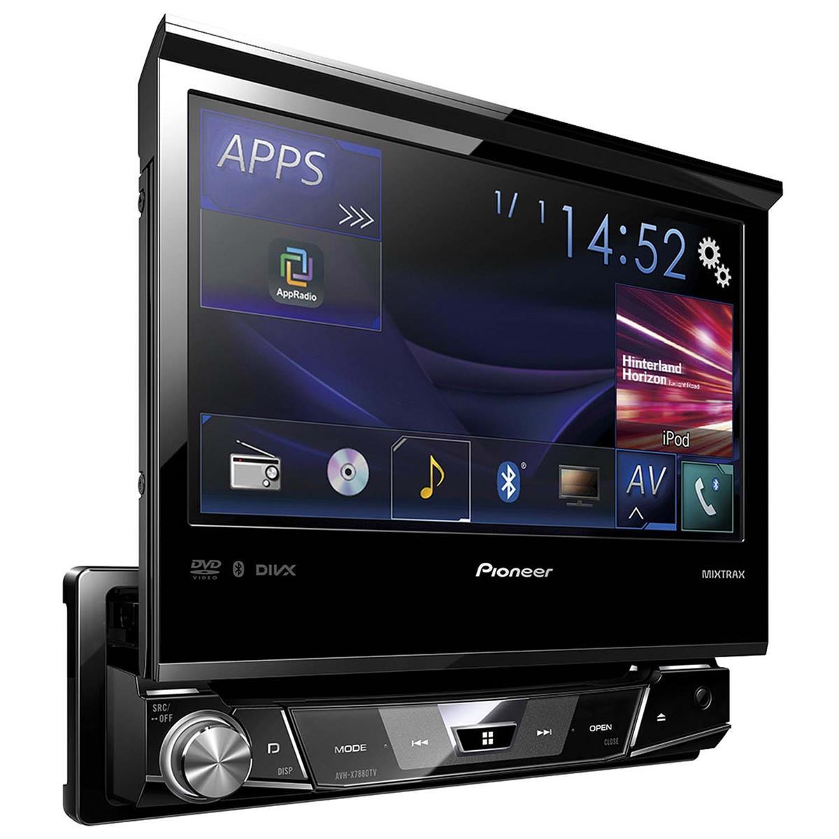 Dvd Automotivo Cd Dvd Usb Tv Bluetooth Avh - X7880tv Pioneer