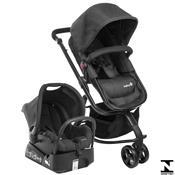 Carrinho De Bebê Mobi Ts Full Black Bebê Conforto Safety 1St