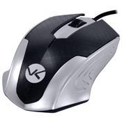 Mouse Óptico Ps2 1200Dpi Preto E Prata Mb71 Vinik