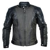 Jaqueta Para Motociclismo Couro Cotton Evolution Drako Texx