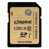 Cartão De Memória Classe 10 Sdxc 128Gb Sda10/128Gb Kingston