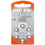 Pilha Auditiva Aparelho Surdez 13 1.4V Extra Advanced Rayovac