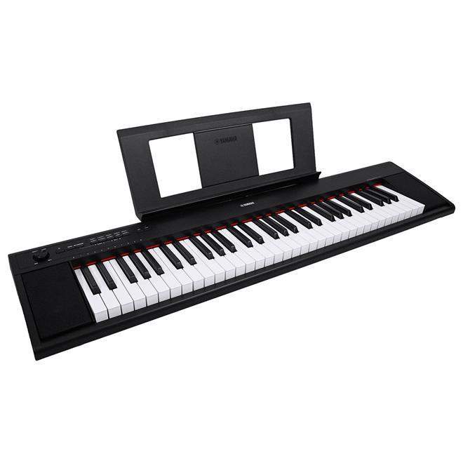 teclado piaggero com fonte preto np 12b yamaha yamaha. Black Bedroom Furniture Sets. Home Design Ideas