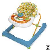 Andador Para Bebê Buggy Branco E Azul Voyage