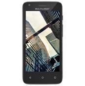 Smartphone 4.5 Pol 3G Quadcore 2 Chips Preto Ms45s Multilaser