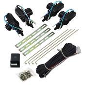 Trava Eletrica 4 Portas Universal Kit Completo Isoflex