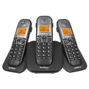 Telefone Sem Fio Display Preto Ts5123 Intelbras
