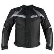 Jaqueta Masculina De Motociclista New Falcon Preta Texx