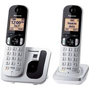 Telefone Sem Fio Com Id Base E Ramal Cinza Kx-Tgc212lb1 Panasonic