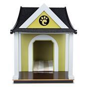Casinha Com Almofada Para Cães Médio Porte Carlu Pet House Cottage