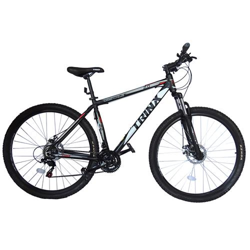 Bicicleta Obstale 2.0 Aro 29 Preta E Vermelha Kit Shimano Trinx
