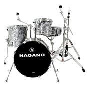 Bateria Acústica Concert Gig 18 Pol Abalone Gray Nagano