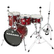 Bateria Acústica Concert Gig 18 Pol Abalone Red Nagano