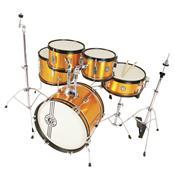 Bateria Infantil Acústica One Drum Om Orange Nagano