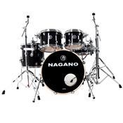 Bateria Acústica Concert Traditional Lacquer Bm Black Mist Nagano