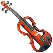 Violino Elétrico 4-4 Ev744 Envernizado Eagle