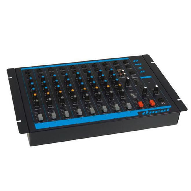 Mesa De Som Com 8 Canais E 1 Auxiliar Cd Dvd Omx - 8 Oneal