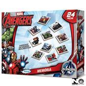 Jogo De Memória Madeira Avengers 15021 Xalingo
