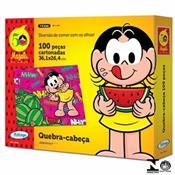 Quebra-Cabeça 100 Peças Cartonado Magali 10754 Xalingo