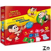 Jogo Associando Números E Quantidades Turma Da Mônica 10576 Xalingo