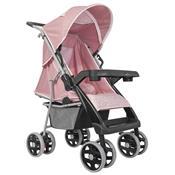 Carrinho De Bebê Thor Plus Rosa Coroa 4 Posições 03900.36 Tutti Baby