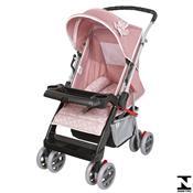 Carrinho De Bebê Thor Rosa Coroa 4 Posições 03900.36 Tutti Baby