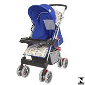 Carrinho De Bebê Magni Azul Príncipe 04800.28 Tutti Baby