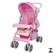 Carrinho De Bebê Magni Rosa Princesa 04800.29 Tutti Baby
