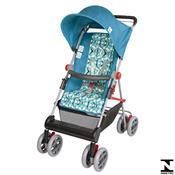 Carrinho De Bebê Damiano Azul Turquesa 03400.35 Tutti Baby