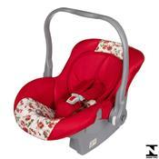 Bebê Conforto Nino 0 À 13Kg Vermelho Floral 04700.16 Tutti Baby