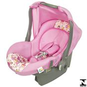 Bebê Conforto Nino 0 À 13Kg Rosa Princesa 04700.29 Tutti Baby
