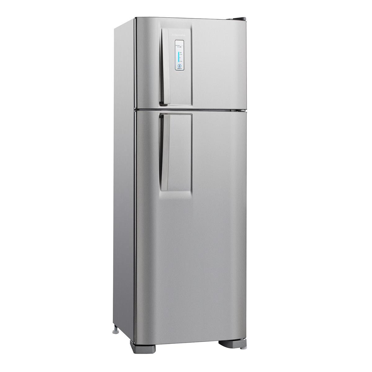 Geladeira Frost Free 2 Portas 310L Inox Df36x Electrolux
