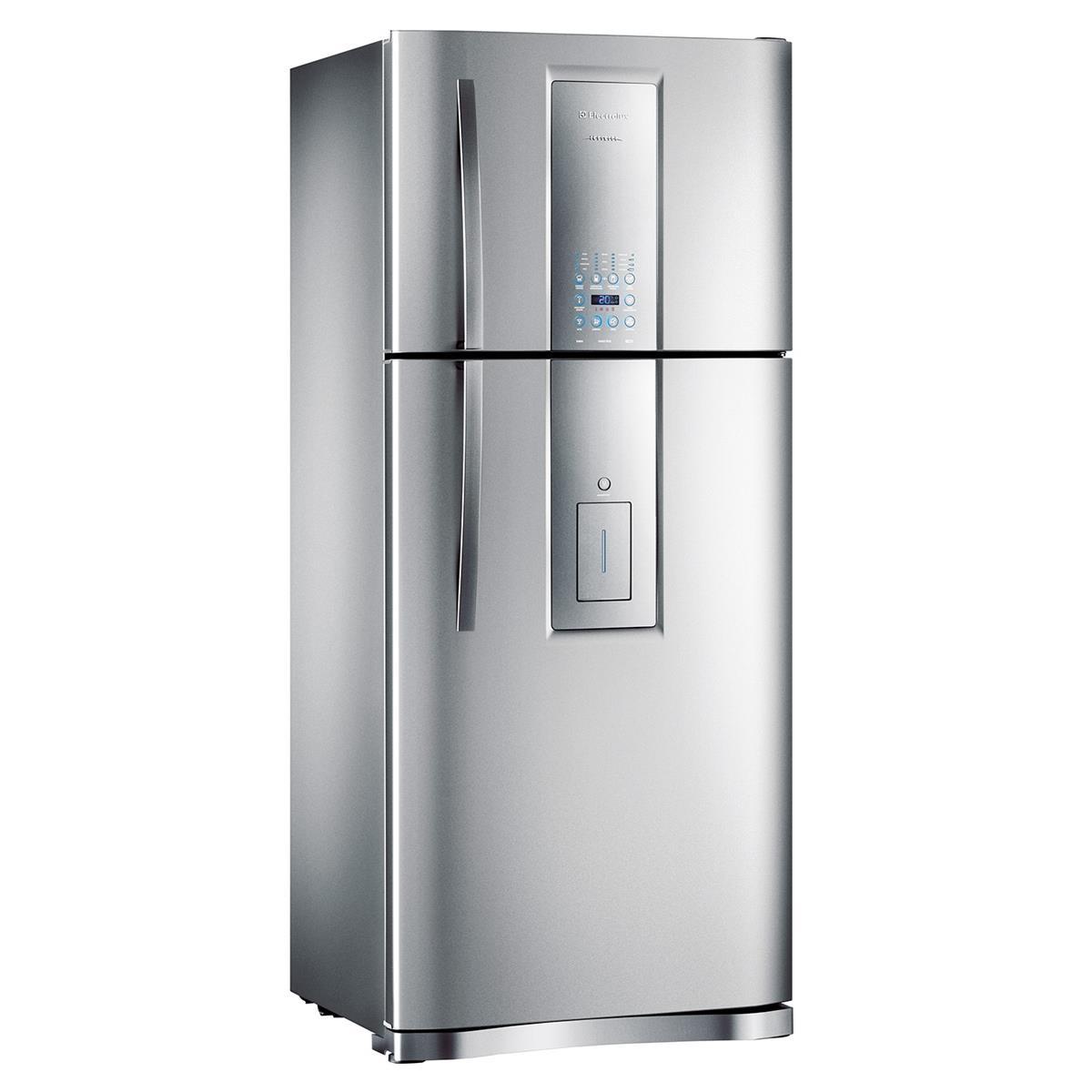 Refrigerador Infinity Frost Free 2 Portas 542L Inox Di80x Electrolux