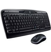 Kit Desktop Teclado E Mouse Usb Wireless Mk320 Logitech