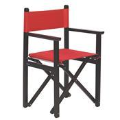 Cadeira Diretor Dobrável Tramontina Beer 12667084 Tabaco Vermelha