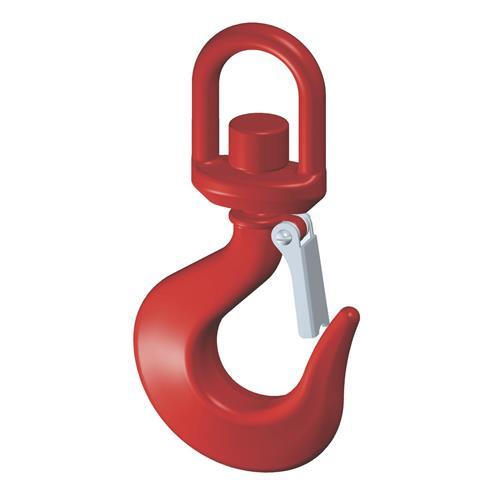 Gancho Giratório Trava 4.5 Toneladas Vermelho 33801057 Tramontina