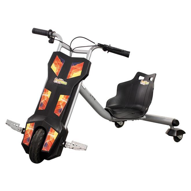 Triciclo Elétrico Spin Kids 100W 12V Preto 1425 Dropboards
