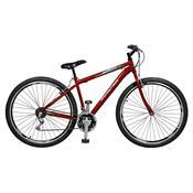 Bicicleta Masculina Ciclone 21 Marchas Aro 29 Vermelha Master Bike