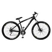 Bicicleta Masculina Ciclone Plus 21 Marchas Aro 29 Preta Master Bike