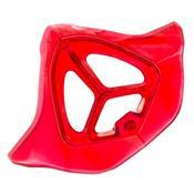 Biqueira Translúcida Para Capacete Th1 Solid Vermelho Pro Tork