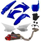 Escapamento 788 Powercore 2 Para Crf 230 Azul Pro Tork
