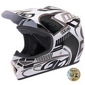 Capacete De Motocross Squad Cinza Pro Tork