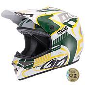 Capacete De Motocross Squad Verde Pro Tork