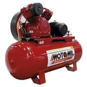 Compressor De Ar 200L 5Hp Trifásico Mav-20/200 Motomil