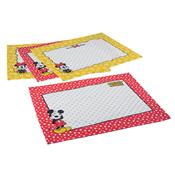 Jogo Americano Mickey E Minnie Chef 4 Peças 3705801 Lepper
